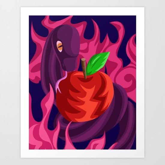 Eden's Fall Art Print