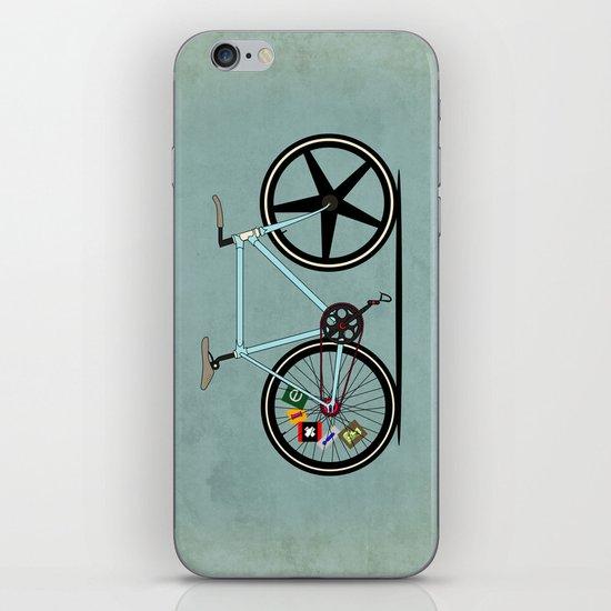 Fixie Bike iPhone & iPod Skin