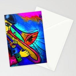 Pink Jazz Stationery Cards