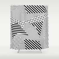 games Shower Curtains featuring Beach Games by Tyler Spangler