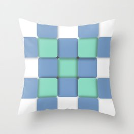 Sheltered Simplicity Throw Pillow