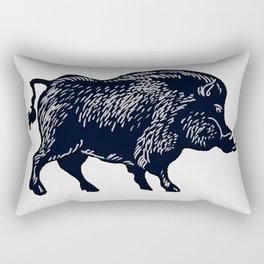 The Majestic Hog Rectangular Pillow