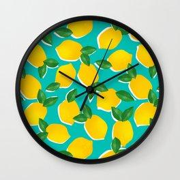 Lemons for daysss Wall Clock