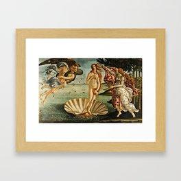 Botticelli  -  The Birth Of Venus Framed Art Print