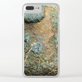River Rock Texture 1 Clear iPhone Case