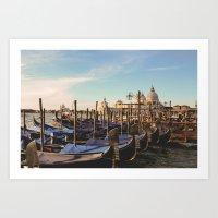 venice Art Prints featuring Venice by Lorenzo Bini