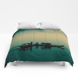 Junk ship Chinese Boat Comforters