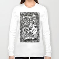 hell Long Sleeve T-shirts featuring Hell by Guice Mann