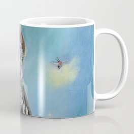 Owl and Lightning Bugs Coffee Mug