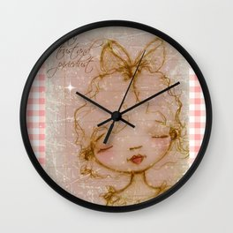 Faith, Trust, and Pixiedust - Glorified Sketch Wall Clock