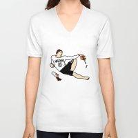 moschino V-neck T-shirts featuring Michelangelo Х Moschino by Vadim  Nozhkin
