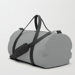 Neutral Gray | Pantone Fashion Color Fall : Winter 2017 | Solid Color Duffle Bag