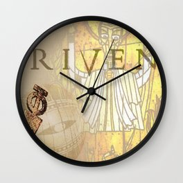 Riven Wall Clock