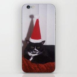 Luna's festive mood... iPhone Skin