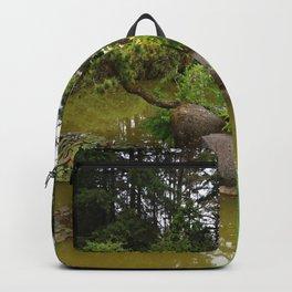 Japanese Garden Lantern Backpack
