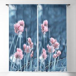 Allium pink 0173 Blackout Curtain