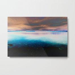 Sky of Dreams and The Ocean Metal Print