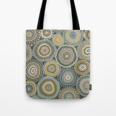 Boho Patchwork-Mineral Colors Tote Bag