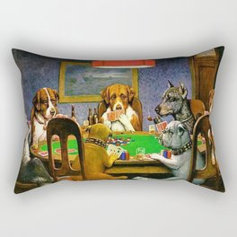 A FRIEND IN NEED - C.M. COOLIDGE Rectangular Pillow