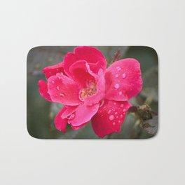 Raindrop Rose Bath Mat