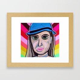 Dama 100% LANA Framed Art Print