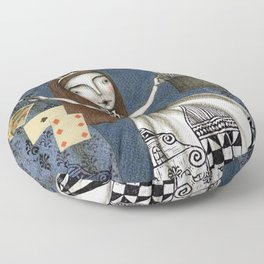 The Magic Act Floor Pillow