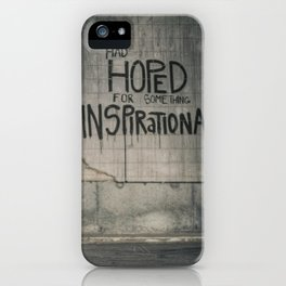 Drayton - Things Hoped For iPhone Case