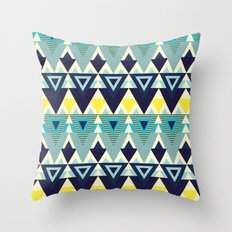 Geometric chic Throw Pillow