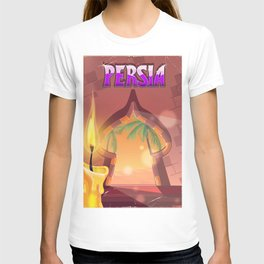Persia Palace at night T-shirt