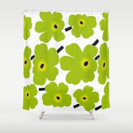 Finnish Flower Shower Curtain