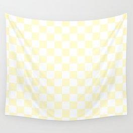 Checker (Cream/White) Wall Tapestry