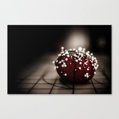 Sewing Tomato Canvas Print