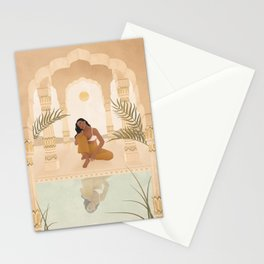 The way you speak to yourself matters Stationery Cards