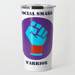 Social Smark Warrrior Travel Mug