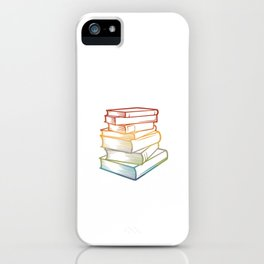 Reading is sexy - Book Lover Librarian iPhone Case