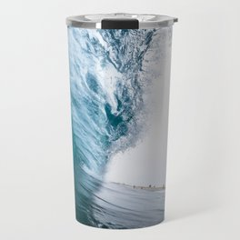 Beautiful Wave Crash Travel Mug