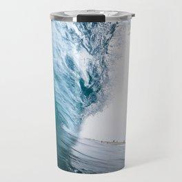 Beautiful Wave Crash Travel Mug