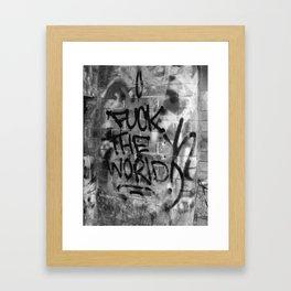 F#%* the World Framed Art Print