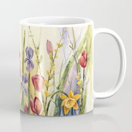 Spring Medley Flowers Coffee Mug