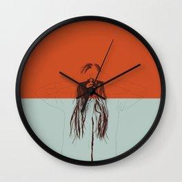 Woman Color 2 Wall Clock