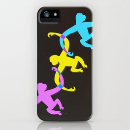 Color Monkeys iPhone Case