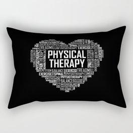 Physical Therapy - Heart Rectangular Pillow