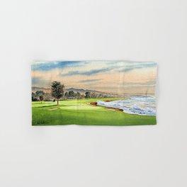 Pebble Beach Golf Course 18th Hole Hand & Bath Towel