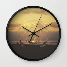 Intervention 40 Wall Clock