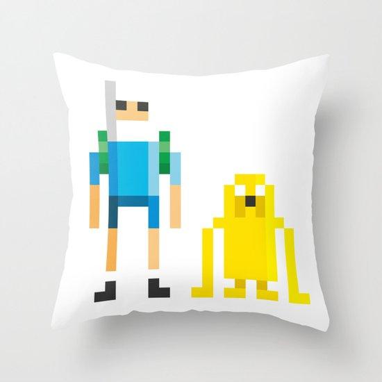 Finn & Jake Throw Pillow