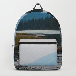 Dreamy Elk Sunset Backpack