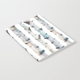 Birch tree Pattern Notebook