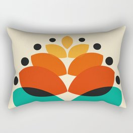 Color Tree Rectangular Pillow