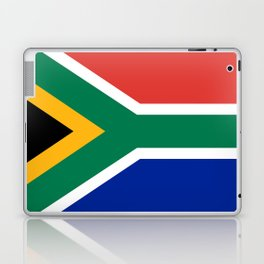 Flag of South Africa, Authentic color & scale Laptop & iPad Skin