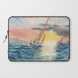 Sailing To The Sunset  Laptop Sleeve
